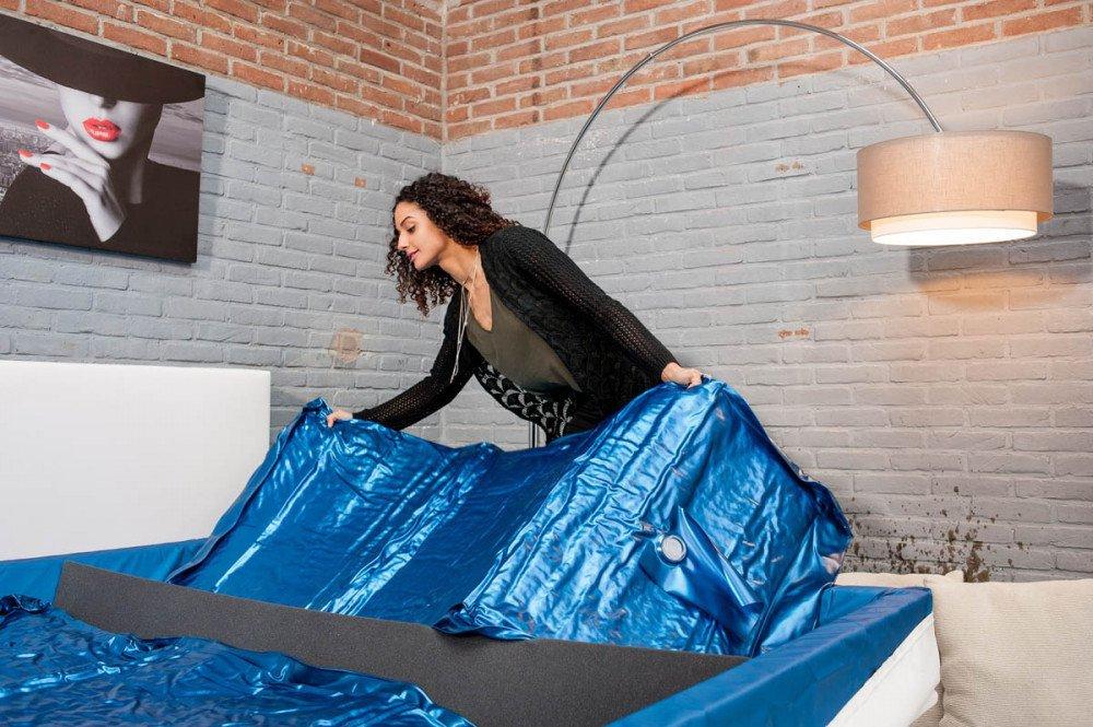 Eine neue Wassermatratze installieren? In 10 Schritten eine Wassermatratze ersetzen!