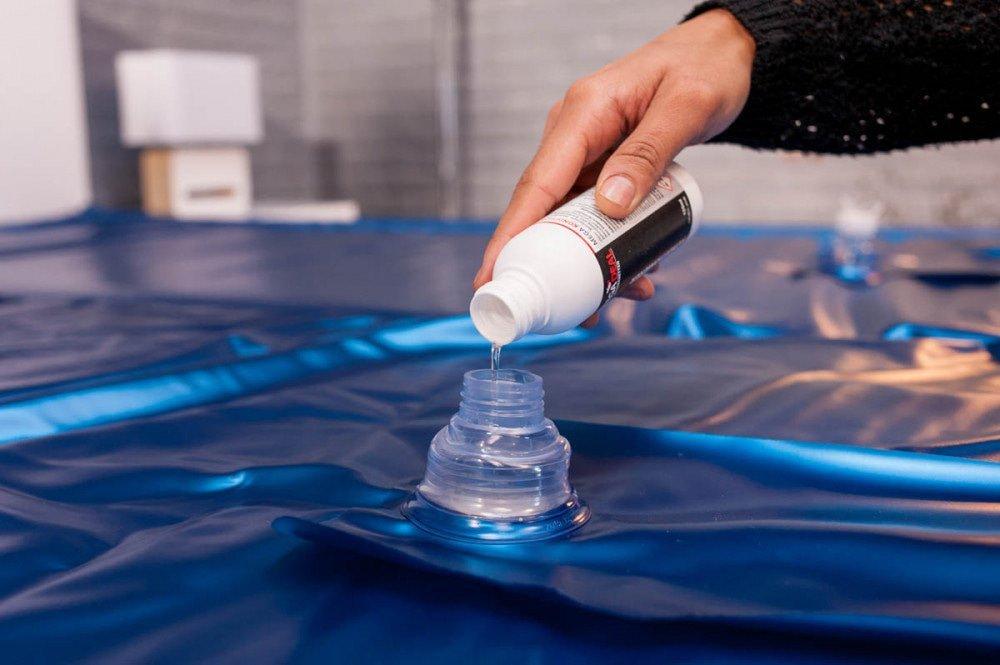 Wasserbett Pflege und Reinigung; wie geht das?